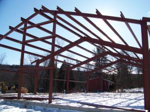 Starting to Look like a building thanks to Lounsbury Builders, Bullville, NY